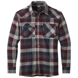 OR Men's Feedback Flannel Shirt raisin plaid