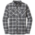 OR Men's Crony L/S Shirt charcoal/black