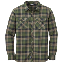 OR Men's Crony L/S Shirt kale
