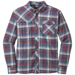 OR Men's Tangent L/S Shirt redwood/night