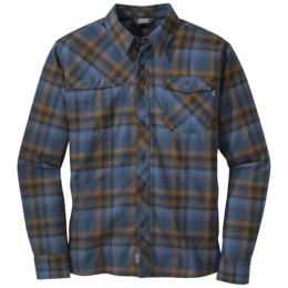 OR Men's Tangent L/S Shirt saddle/indigo