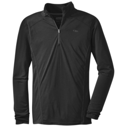 OR Men's Sequence L/S Zip Top black