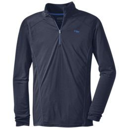 OR Men's Sequence L/S Zip Top night