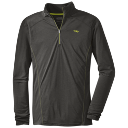 OR Men's Sequence L/S Zip Top charcoal