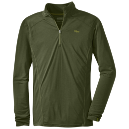 OR Men's Sequence L/S Zip Top kale