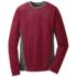 OR Men's Sequence L/S Crew redwood/charcoal