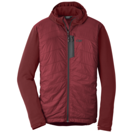 OR Men's Deviator Hoody firebrick