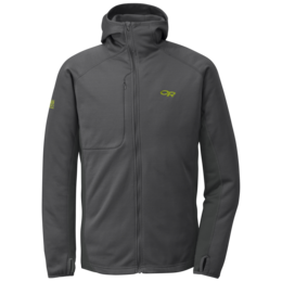 OR Men's Radiant Hybrid Hoody charcoal/lemongrass