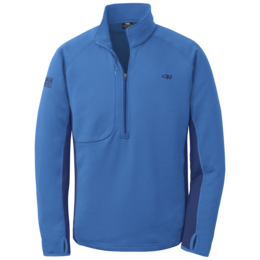 OR Men's Radiant Hybrid Pullover glacier/baltic