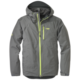 OR Men's Foray Jacket pewter/lemongrass