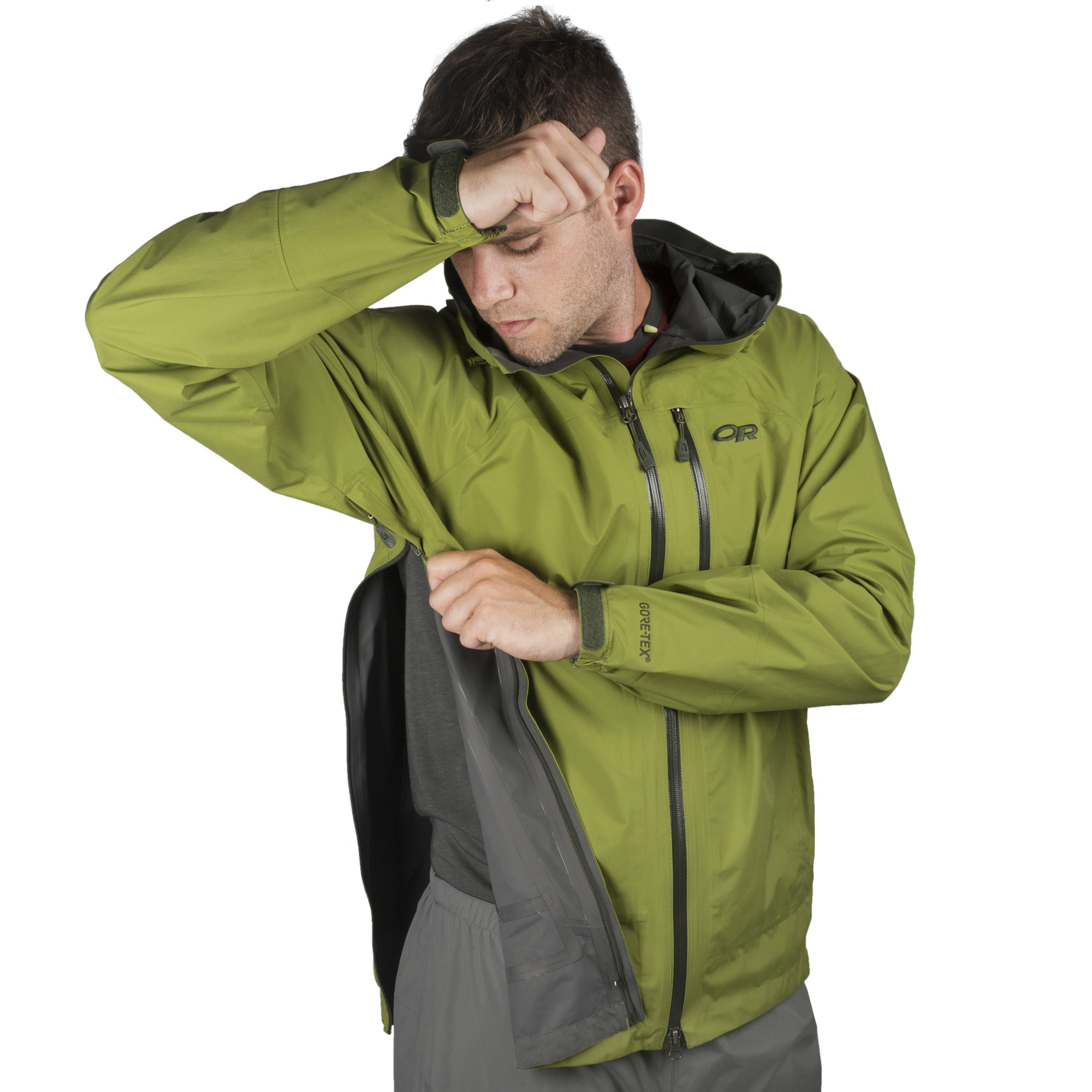 Men S Foray Jacket Black Outdoor Research