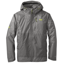 OR Men's Helium HD Jacket pewter/lemongrass
