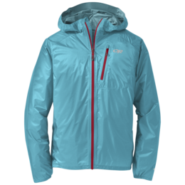 OR Men's Helium II Jacket typhoon/hot sauce
