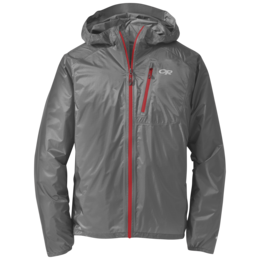 OR Men's Helium II Jacket pewter/tomato