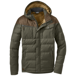 OR Men's Whitefish Down Jacket juniper/carob