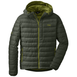 OR Men's Transcendent Down Hoody evergreen/hops