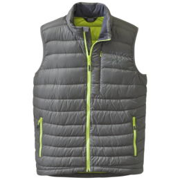 OR Men's Transcendent Down Vest pewter/lemongrass
