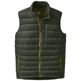 OR Men's Transcendent Down Vest evergreen/hops