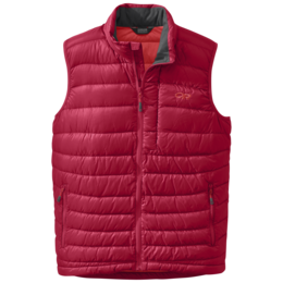 OR Men's Transcendent Down Vest agate/hot sauce