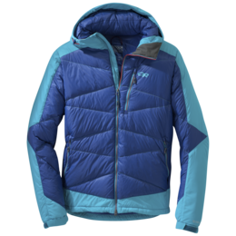 OR Men's Diode Hooded Jacket baltic/typhoon