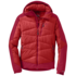 OR Men's Diode Hooded Jacket hot sauce/agate