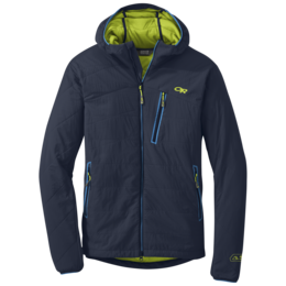 OR Men's Uberlayer Hooded Jacket night/lemongrass