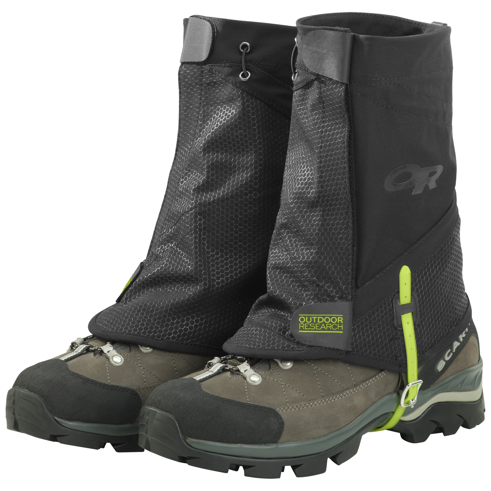 Flex Tex Ii Gaiters Black Outdoor Research