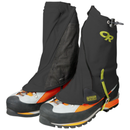 OR Men's Endurance Gaiters black/lemongrass
