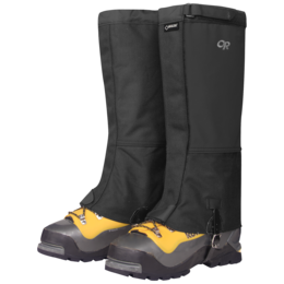 OR Men's Expedition Crocodile Gaiters black