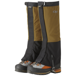 OR Men's Crocodile Gaiters ochre/black