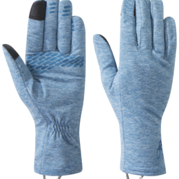 OR Women's Melody Sensor Gloves celestial blue heather