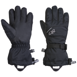 OR Kids' Adrenaline Gloves black