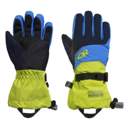 OR Kids' Adrenaline Gloves night/lemongrass/tahoe