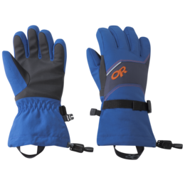 OR Kids' Adrenaline Gloves cobalt/naval blue/burnt orange