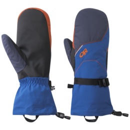 OR Men's Adrenaline Mitts cobalt/naval blue/burnt orange
