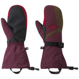 OR Women's Adrenaline Mitts zin/carob/tomato