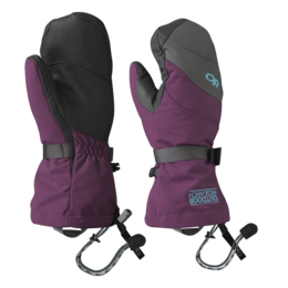 OR Women's Highcamp Mitts orchid/charcoal/rio