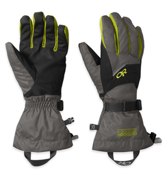 OR Men's Adrenaline Gloves charcoal/black/lemongrass