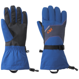 OR Men's Adrenaline Gloves cobalt/naval blue/burnt orange