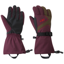 OR Women's Adrenaline Gloves zin/carob/tomato