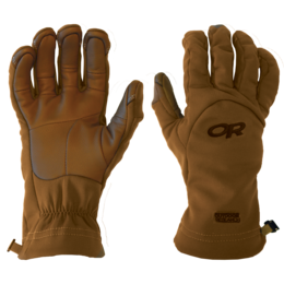 OR MGS Softshell Gloves Leather - USA multicam