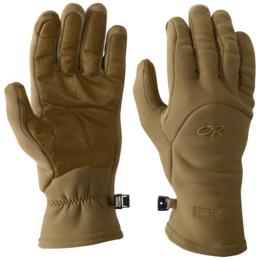 OR MGS Fleece Gloves - USA coyote