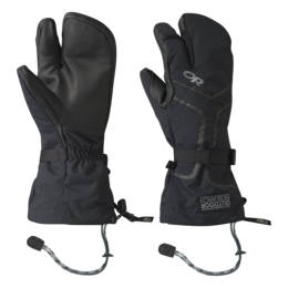 OR Men's Highcamp 3-Finger Gloves (S18) black
