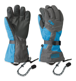 OR Men's Highcamp Gloves charcoal/hydro/pewter