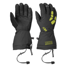 OR Alpine Alibi II Gloves black/lemongrass