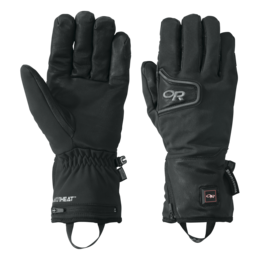 OR Stormtracker Heated Gloves black
