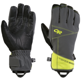 OR Illuminator Sensor Gloves charcoal/lemongrass