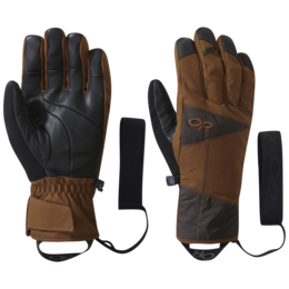 OR Illuminator Sensor Gloves saddle/dark roast