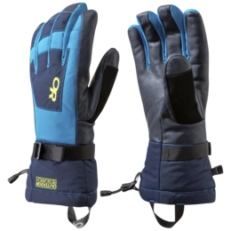 OR Men's Revolution Gloves night/lemongrass/tahoe