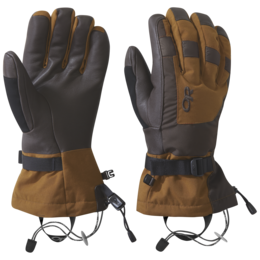 OR Men's Revolution Gloves saddle/dark roast